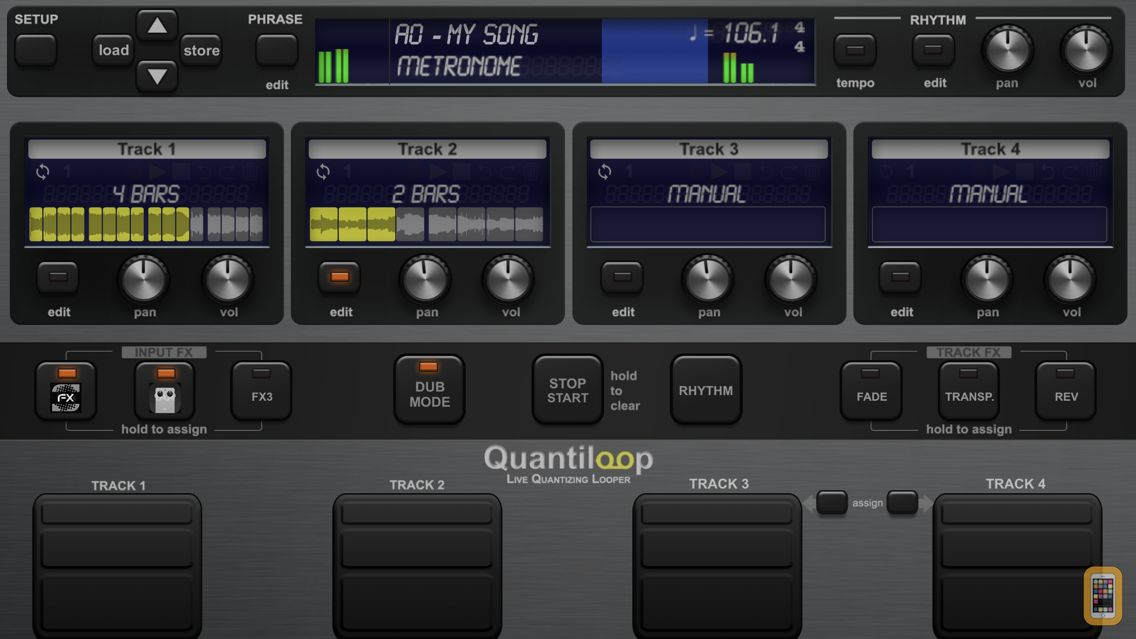 Screenshot - Quantiloop Pro - Live Looper