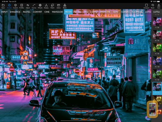 Screenshot - Video LUT Editor