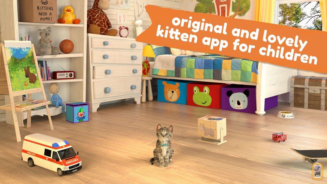 Screenshot - Little Kitten App