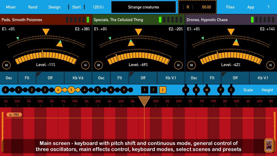 Screenshot - SynthScaper