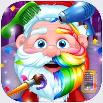 Santa Kids Hair Salon - Christmas Makeover Games by Ninjafish Studios (Universal)