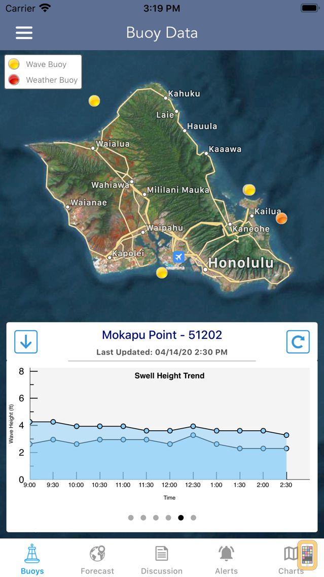 Screenshot - Marine Weather Forecast Pro