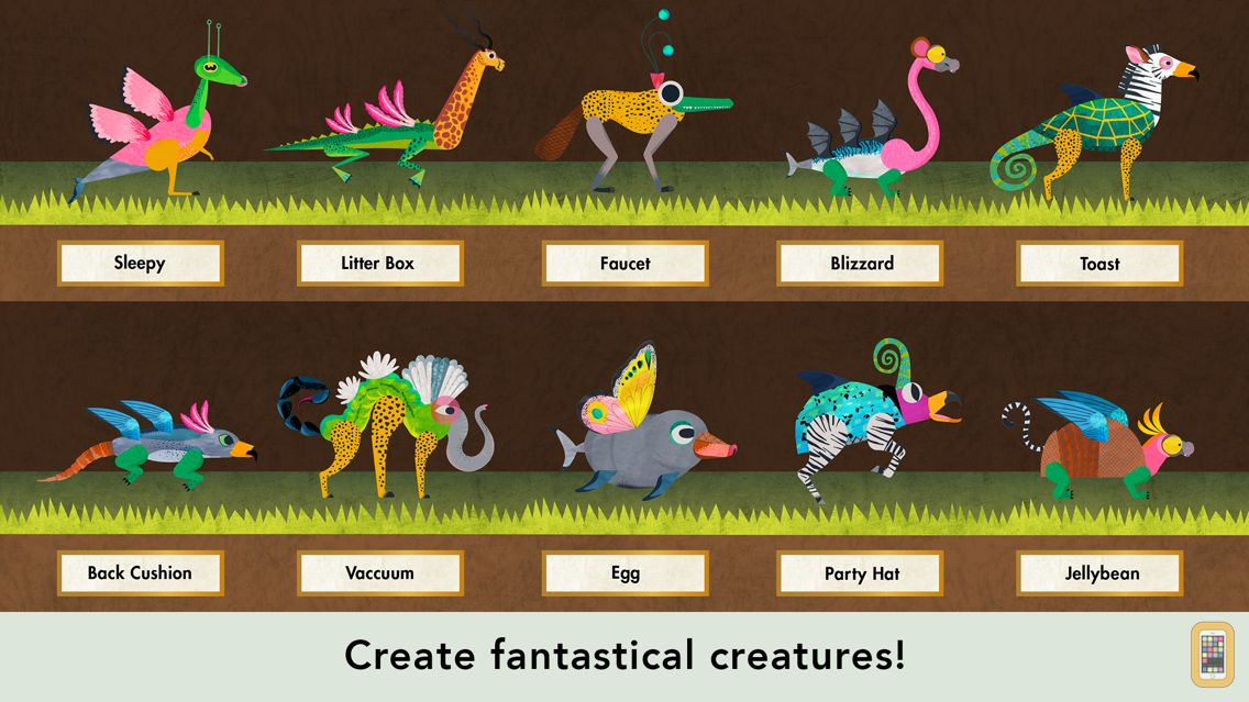 Screenshot - Creature Garden by Tinybop