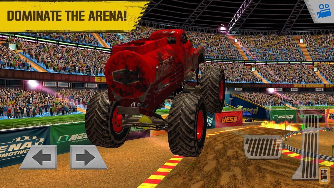 Screenshot - Monster Truck Arena Stunt Driver