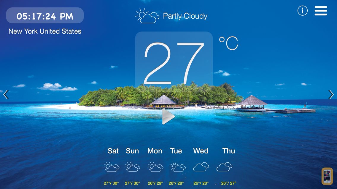 Screenshot - Maldives Weather, Sights & Sounds for Relaxation