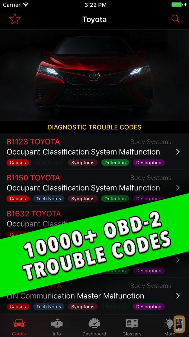 Screenshot - Toyota App!