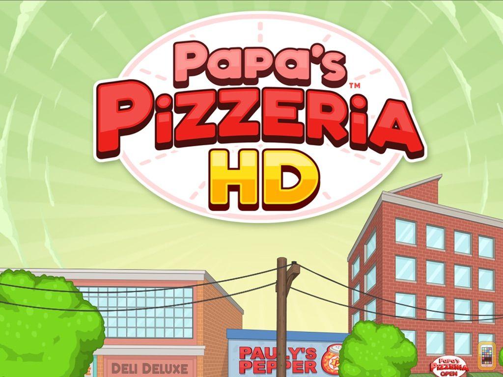 Screenshot - Papa's Pizzeria HD