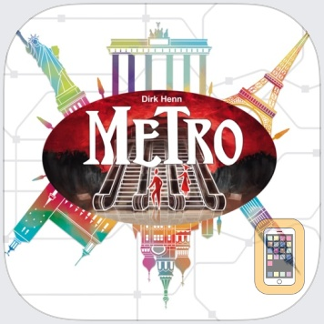 Metro - The Board Game by Queen Games (Universal)