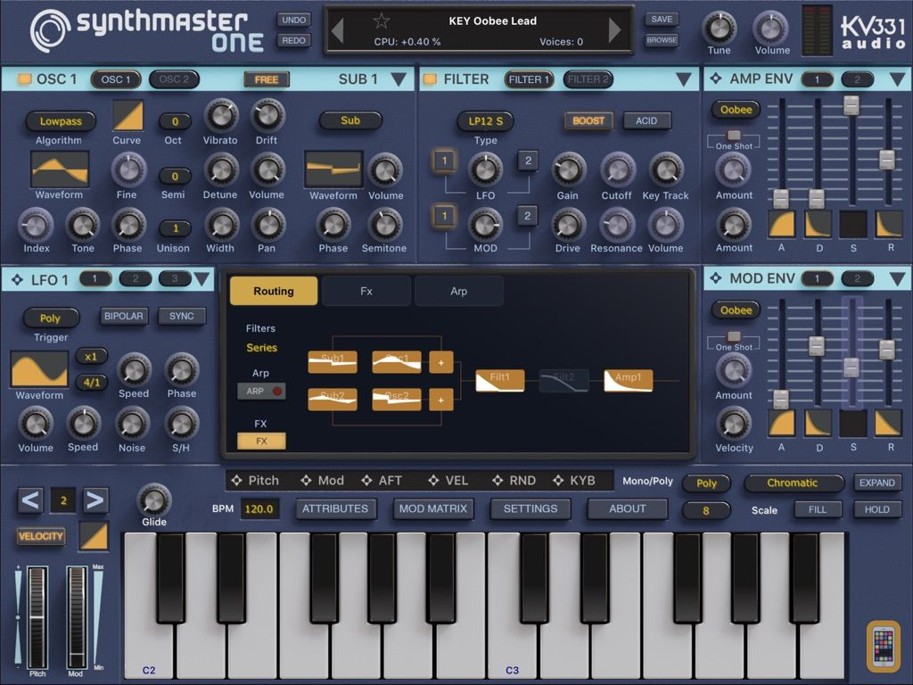 Screenshot - SynthMaster One
