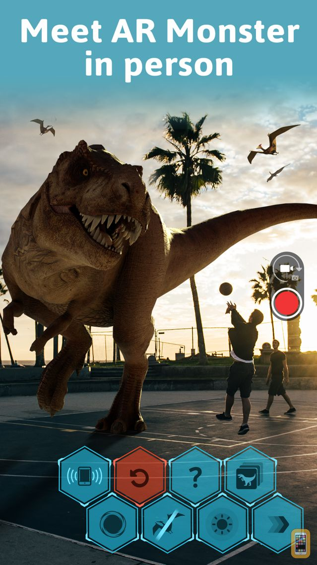 Screenshot - Monster Park - AR Dino World