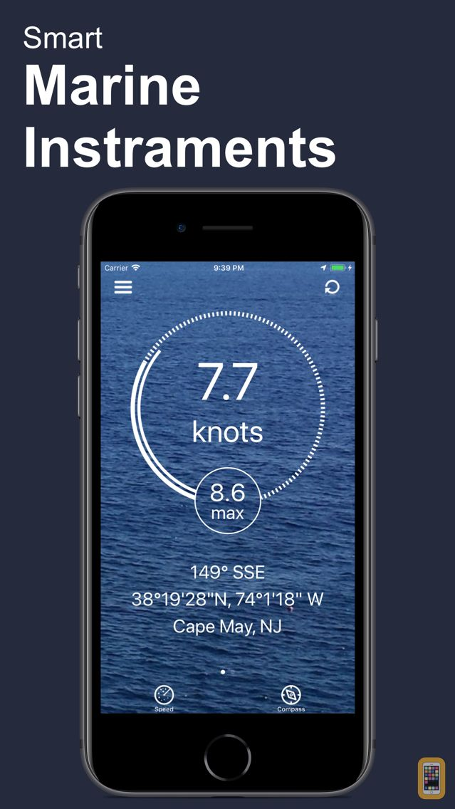 Screenshot - BoatSpeed: Course & Speed