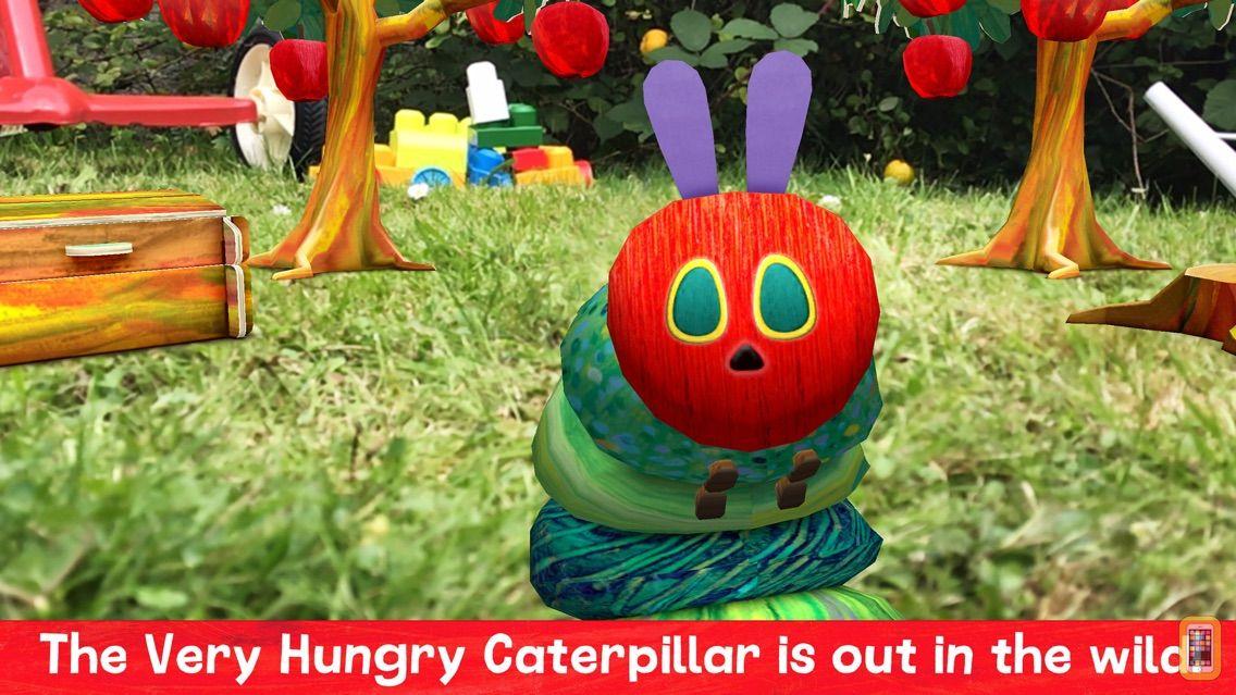 Screenshot - My Very Hungry Caterpillar AR