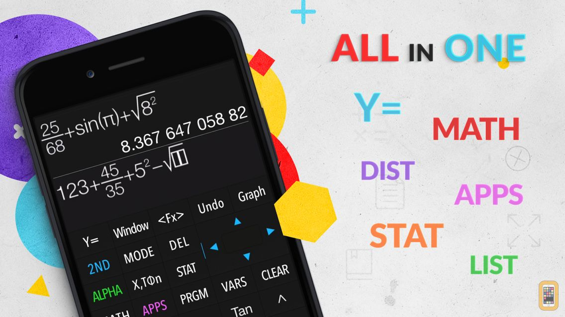 Screenshot - Graphing Calculator Plus