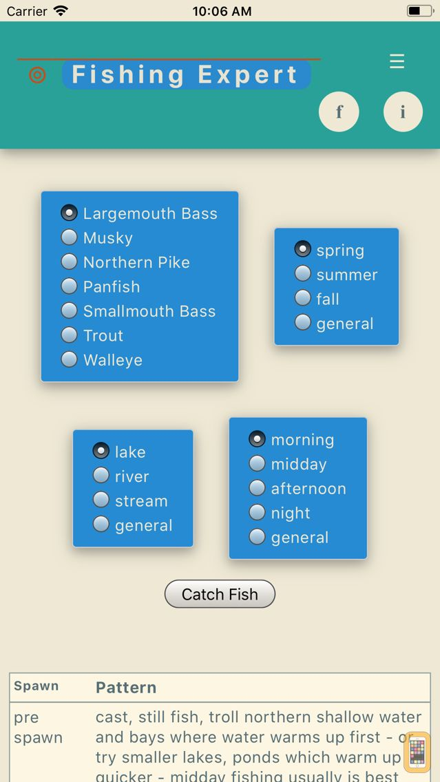Screenshot - Fishing Expert-Freshwater Fish