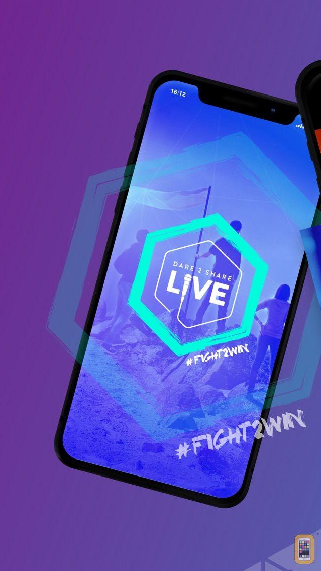 Screenshot - Dare2Share Live