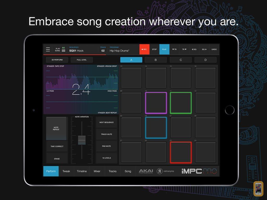Screenshot - iMPC Pro 2