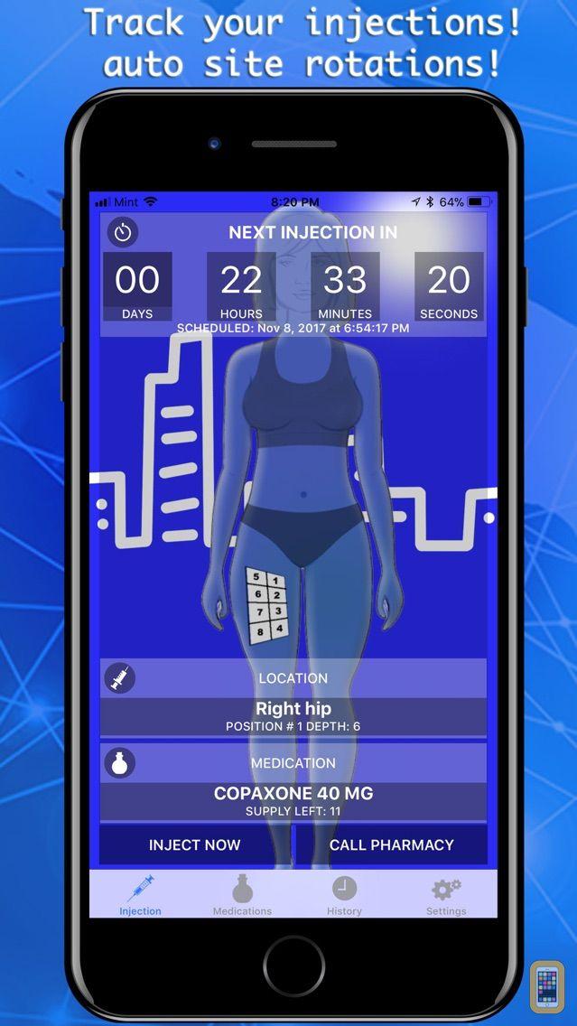 Screenshot - Injection Tracker & Reminder