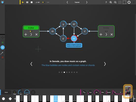 Screenshot - Senode - Graph Sequencer