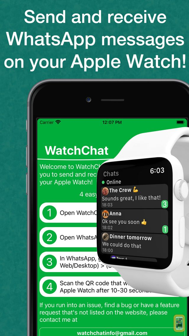 Screenshot - WatchChat 2: for WhatsApp