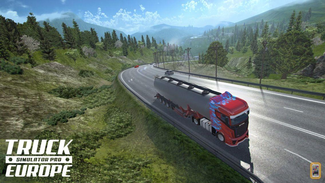 Screenshot - Truck Simulator PRO Europe