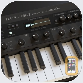 AudioKit FM Player 2: DX + AU by AudioKit Pro (iPad)