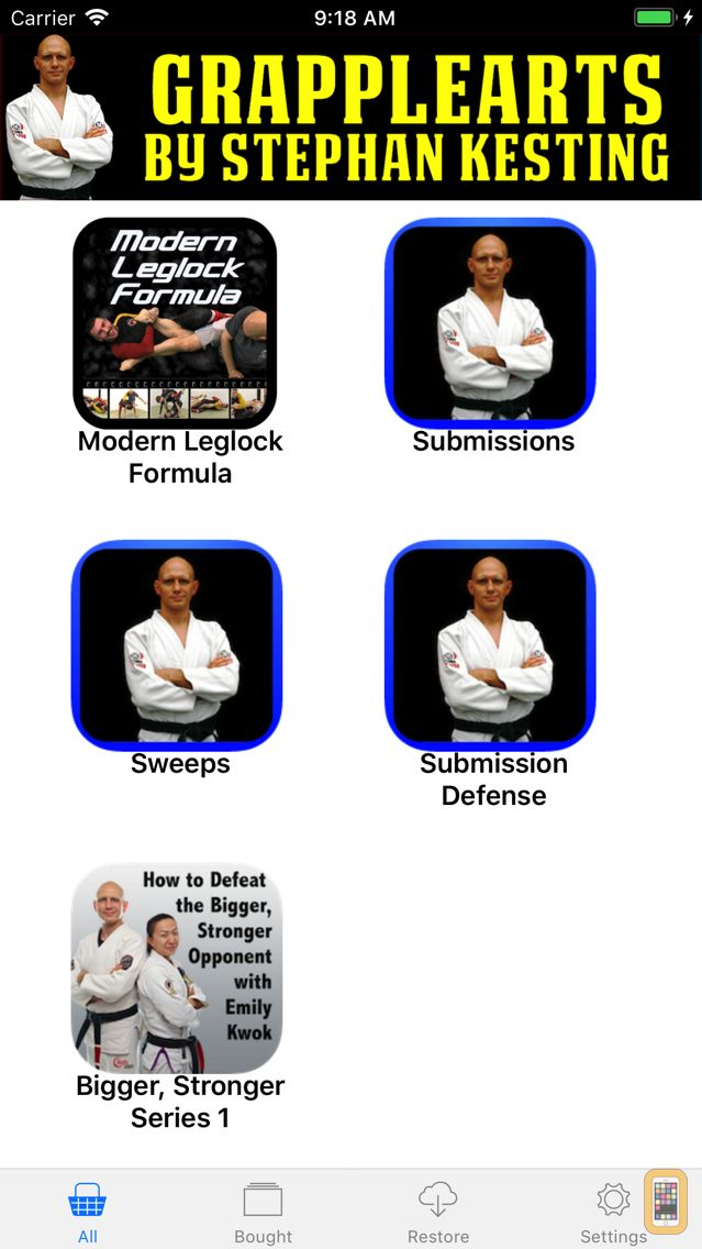 Screenshot - BJJ Master App by Grapplearts