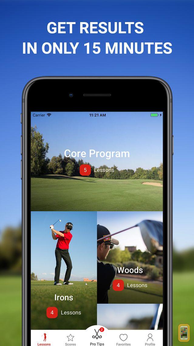 Screenshot - 15 Minute Golf Coach swing