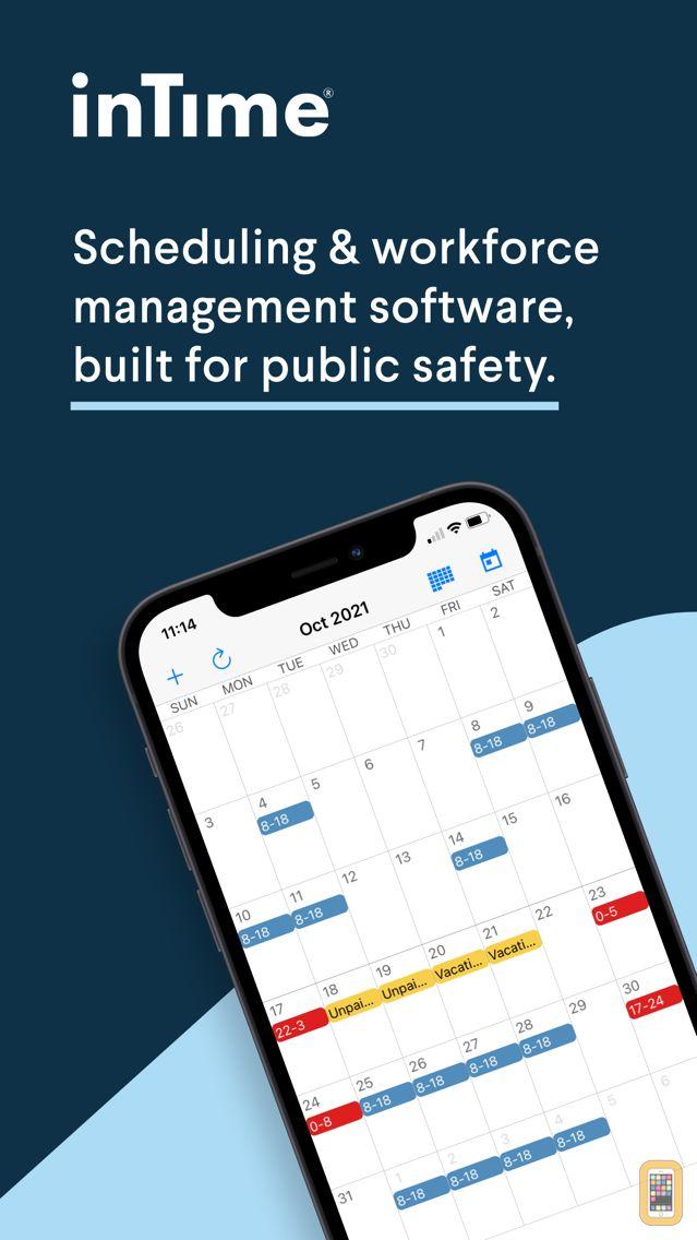 Screenshot - InTime Scheduling