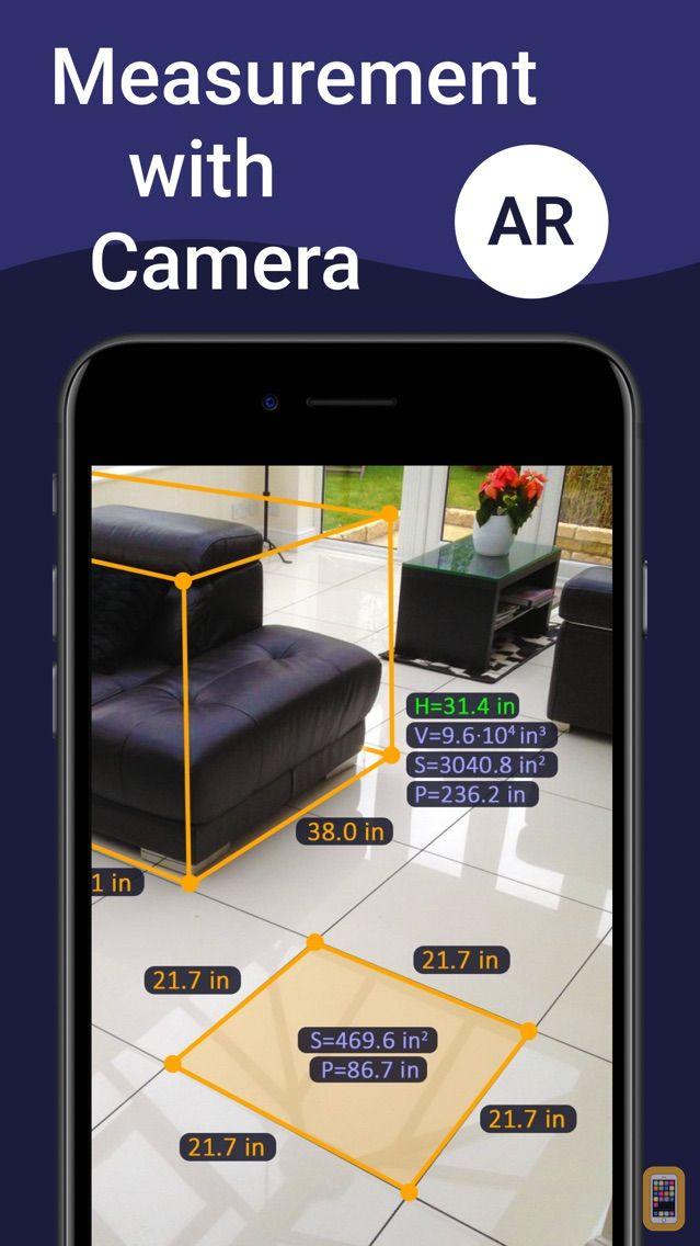 Screenshot - AR Ruler App – Tape Measure
