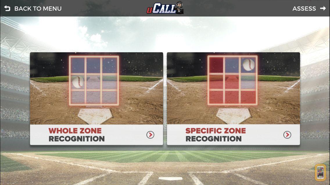 Screenshot - uCALL for Umpires