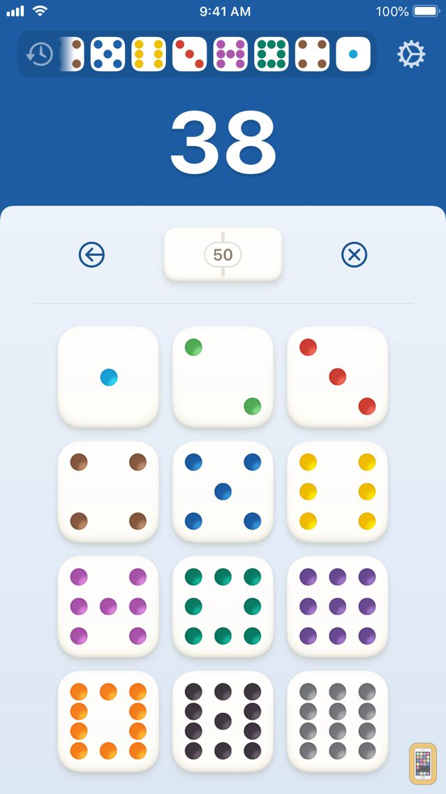 Screenshot - Countimo - Domino Counter
