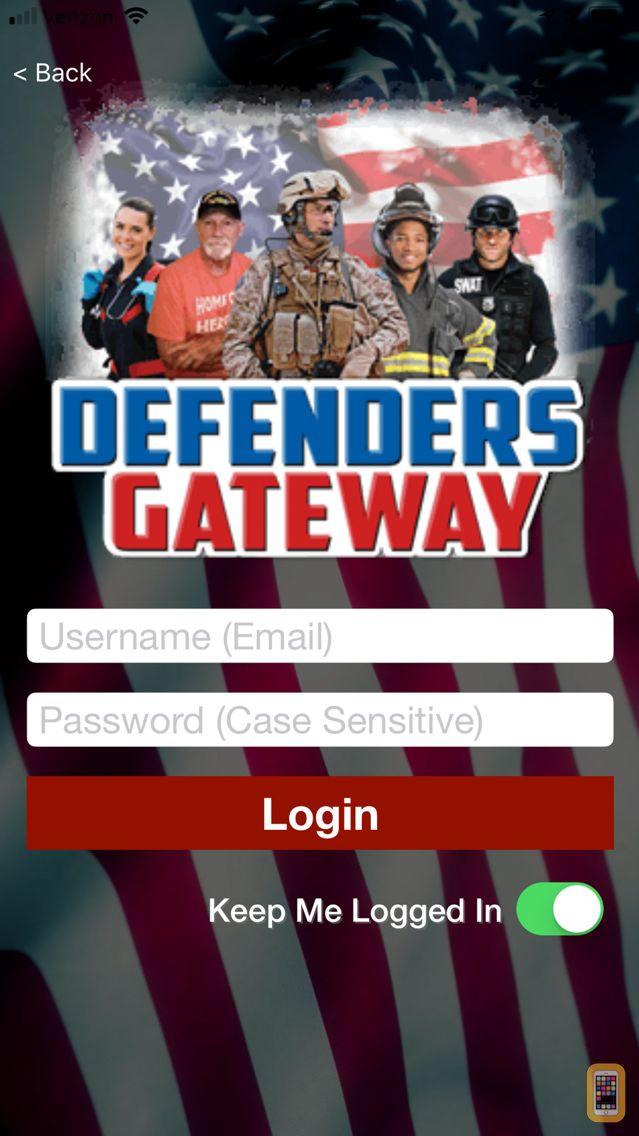 Screenshot - Defenders Gateway