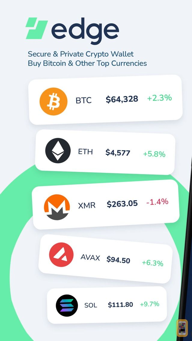 Screenshot - Edge - Crypto & Bitcoin Wallet