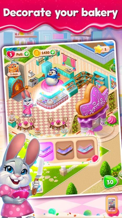 Screenshot - Sweet Escapes: Build A Bakery