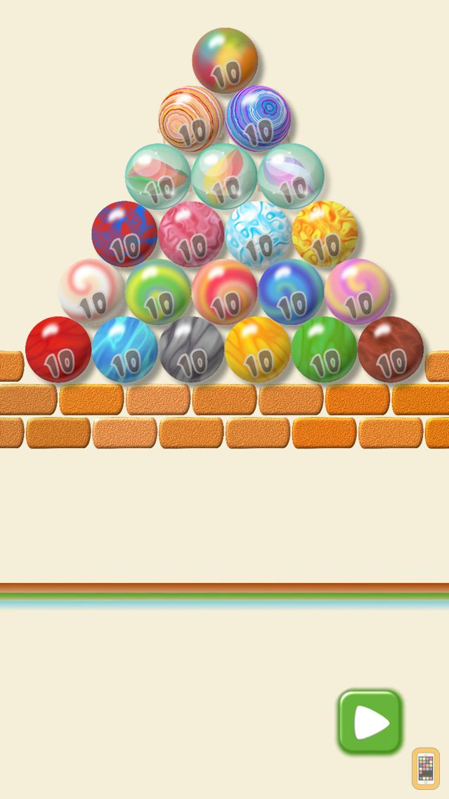 Screenshot - Balconia Math : 21 Marbles