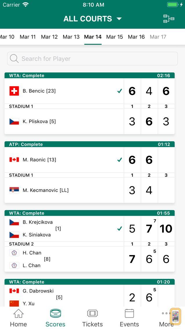 Screenshot - 2019 BNP Paribas Open
