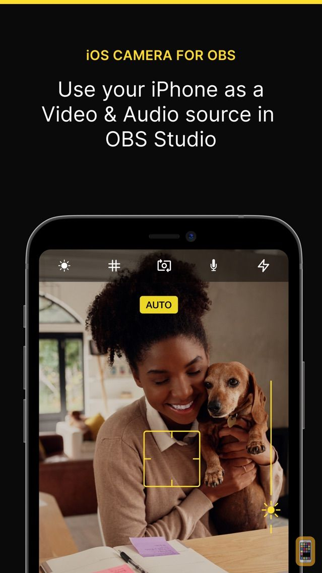 Camera for OBS Studio for iPhone & iPad - App Info & Stats | iOSnoops