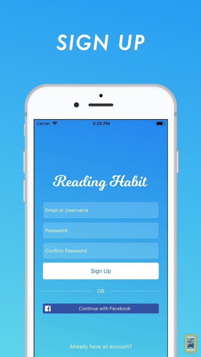 Screenshot - Reading Habit