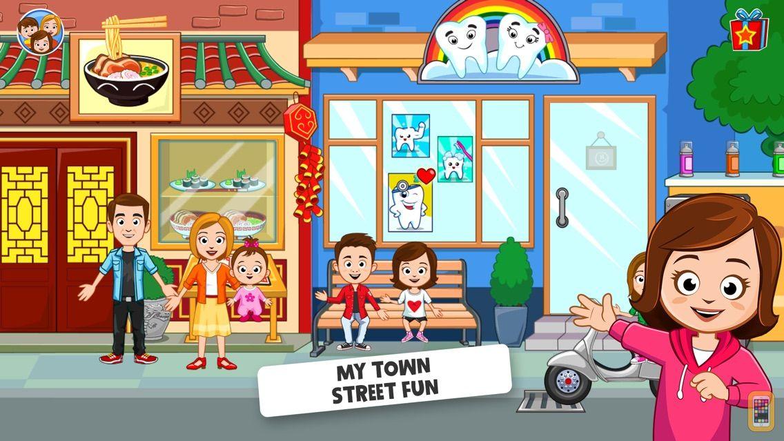 Screenshot - My Town : Street Fun