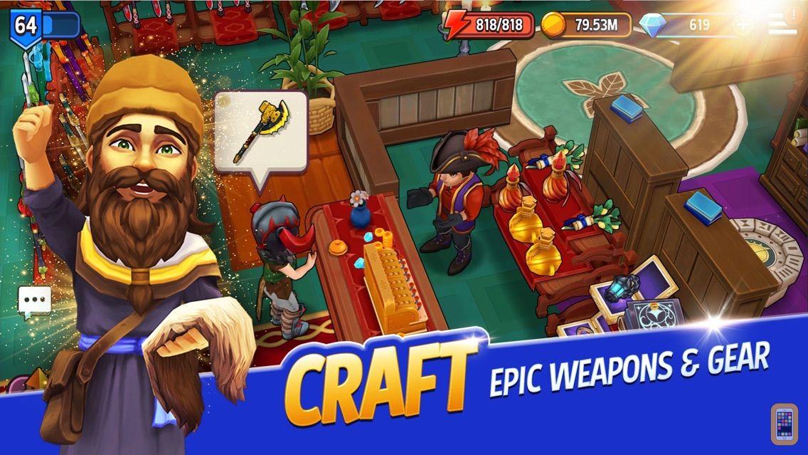 Screenshot - Shop Titans: Design & Trade