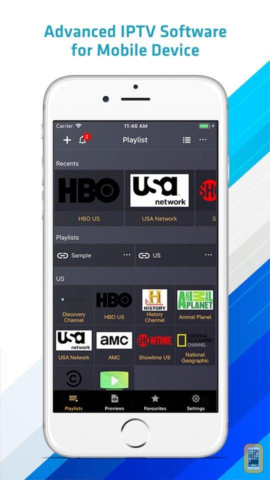 Screenshot - IPTV Player Pro: play m3u file