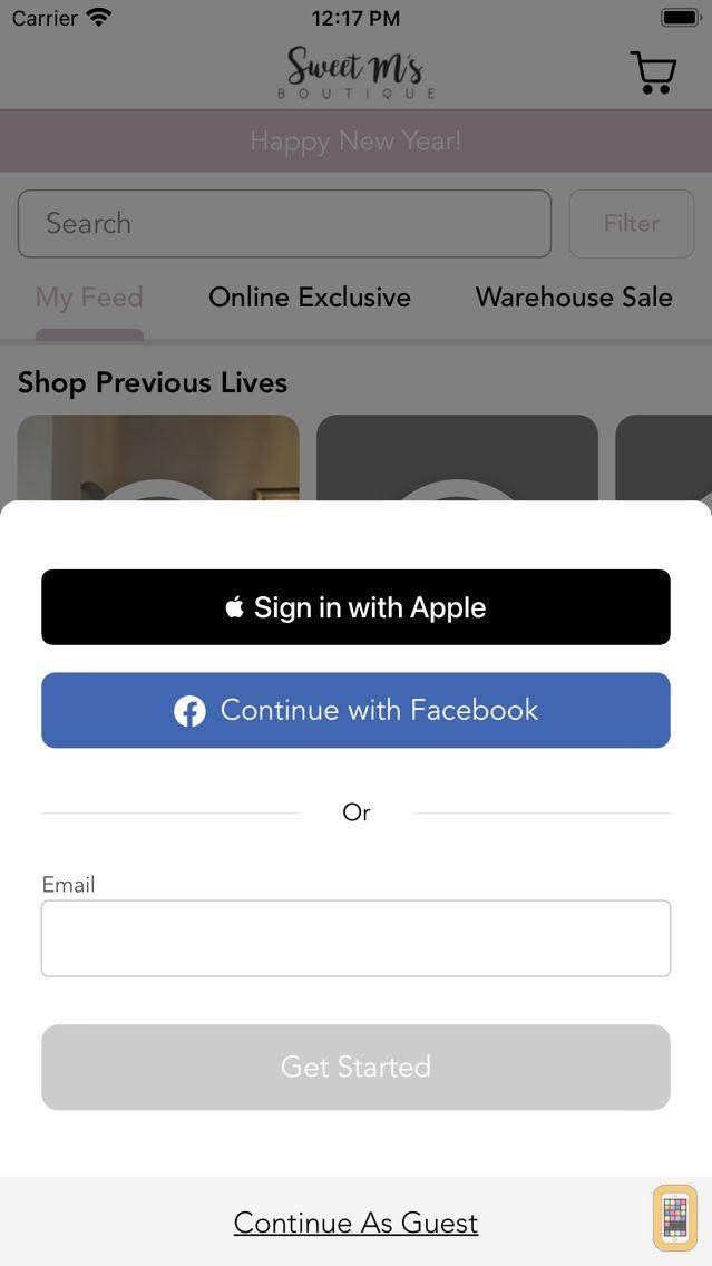 Screenshot - Sweet M's Boutique