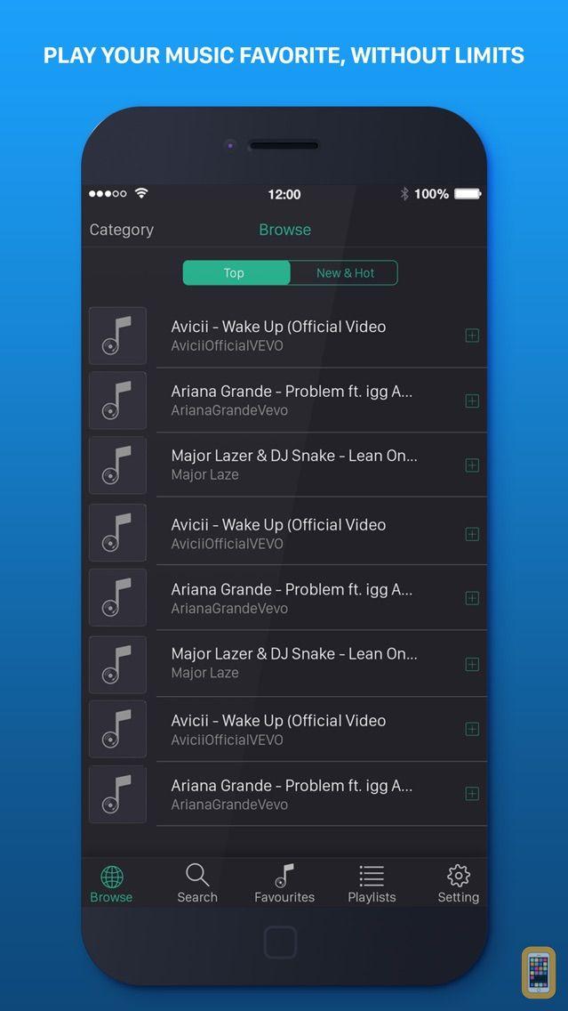 Screenshot - Music on Top - MP3 Music Play