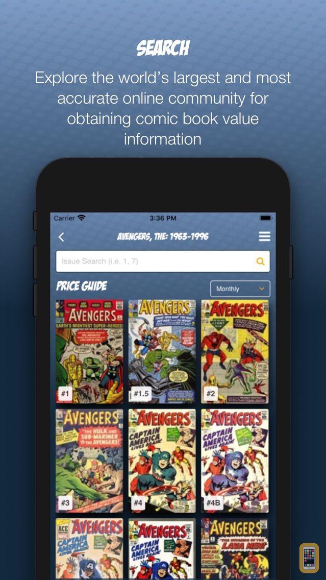Screenshot - Comics Price Guide