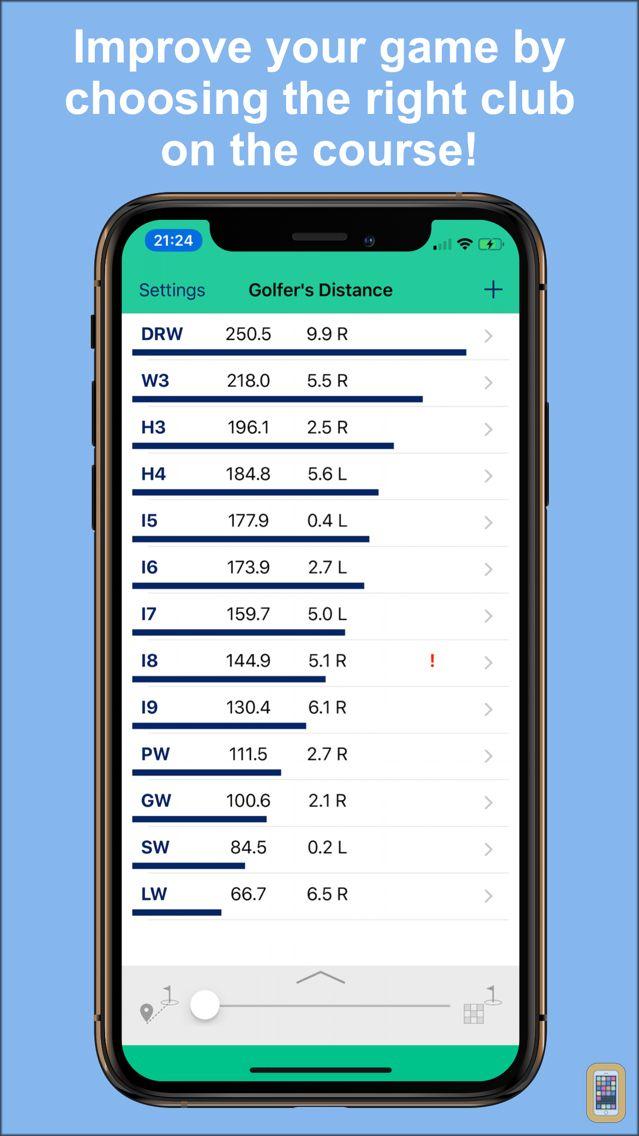 Screenshot - Golfer's Distance