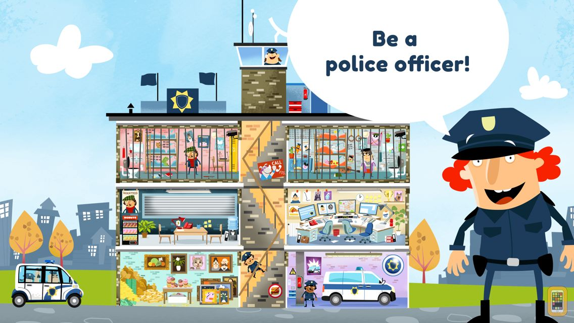 Screenshot - Little Police Station for Kids