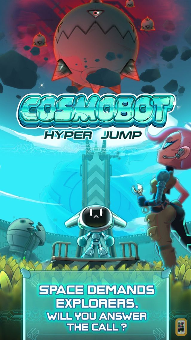 Screenshot - Cosmobot – Hyper Jump