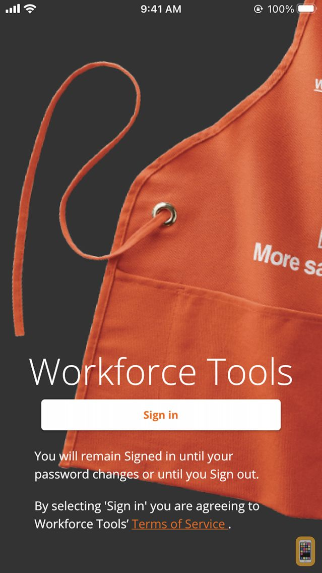 Screenshot - Workforce Tools