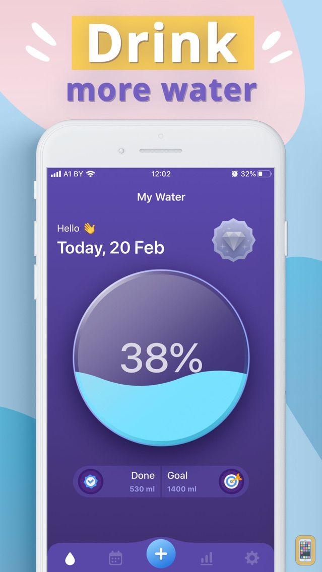 Screenshot - My Water - Daily Water Tracker