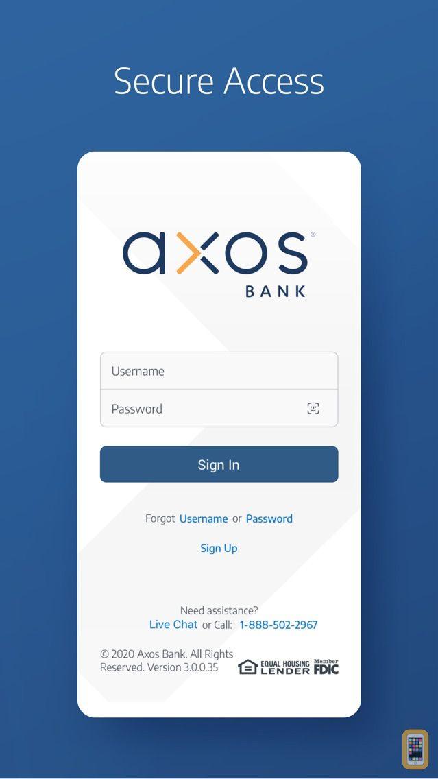 Screenshot - Axos Bank®